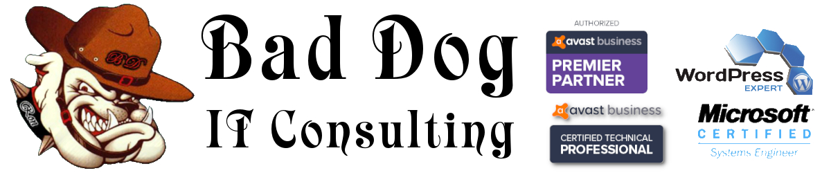 Bad Dog IT Consulting, LLC Logo
